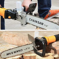 Bestsellrz® Angle Grinder Chainsaw Attachment Blade Electric Wood Cutter Machine Electric Saws M10 M14 M16 Chopnix™