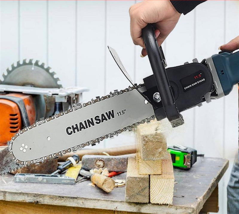 Bestsellrz® Angle Grinder Chainsaw Attachment Blade Electric Wood Cutter Machine Electric Saws M10 M16 Chopnix™