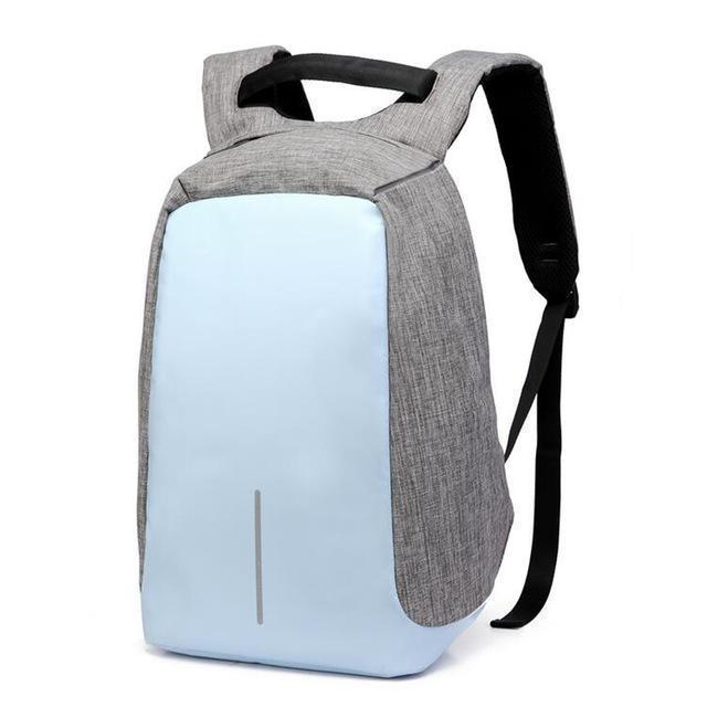 Bestsellrz® Anti Theft Travel Backpack Waterproof Water Resistant Laptop Bags Backpack Small Blue Anti-Theft Travel Backpack