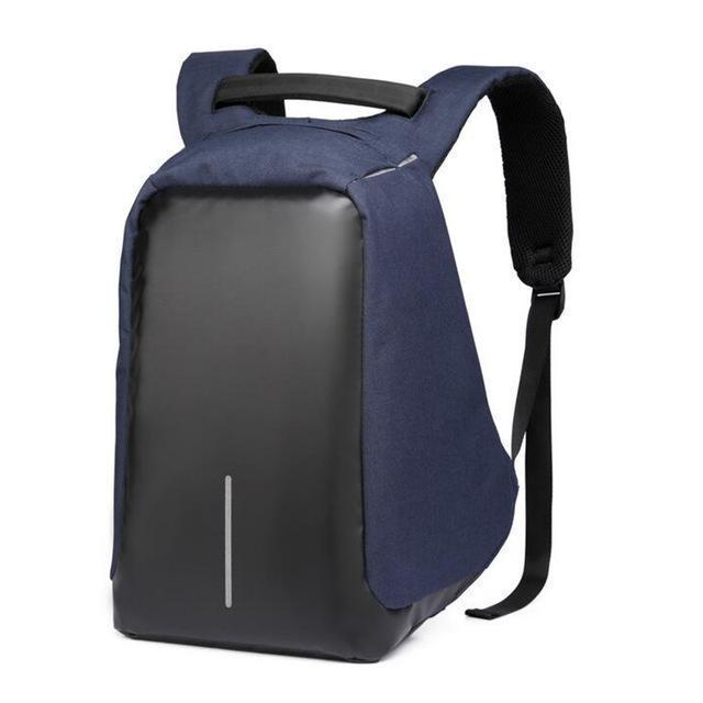 Bestsellrz® Anti Theft Travel Backpack Waterproof Water Resistant Laptop Bags Backpack Small Blue black Anti-Theft Travel Backpack
