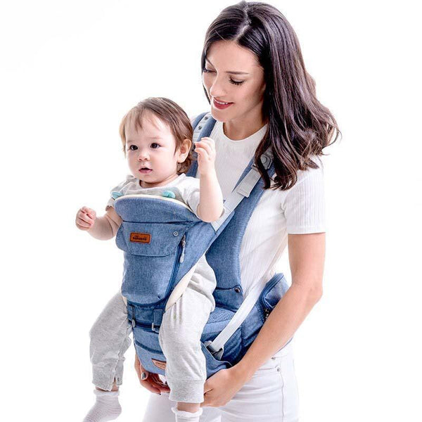 Bestsellrz® Baby Carrier Wrap Newborn Sling for Men and Women - Cradlex™ Pro Baby Carriers Blue Cradlex™ Pro