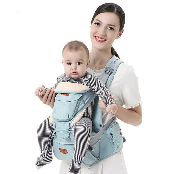 Bestsellrz® Baby Carrier Wrap Newborn Sling for Men and Women - Cradlex™ Pro Baby Carriers Mint Cradlex™ Pro