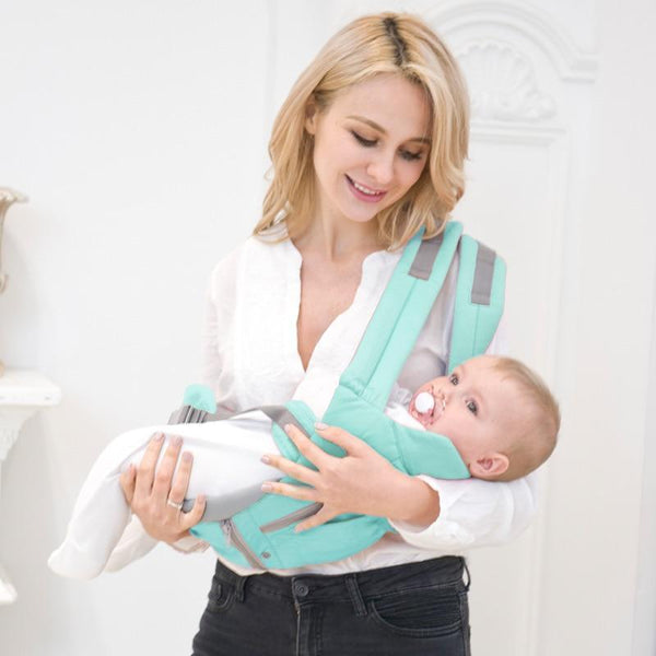 Bestsellrz® Baby Carrier Wrap Newborn Sling for Men Women - Cradlex™ Baby Carriers Aqua Green Cradlex™