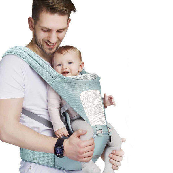 Bestsellrz® Baby Carrier Wrap Newborn Sling for Men Women - Cradlex™ Baby Carriers Sky Blue Cradlex™
