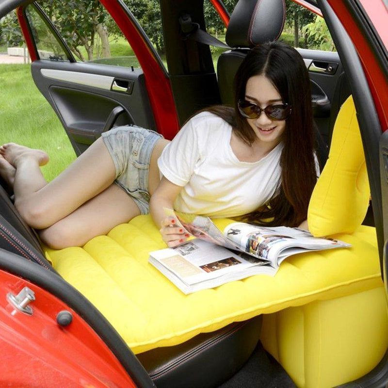 Bestsellrz® Back Seat Inflatable Car Bed  Air Mattress For Truck Camping Cab Bed  - Bedzy™ Car Travel Bed Bedzy™