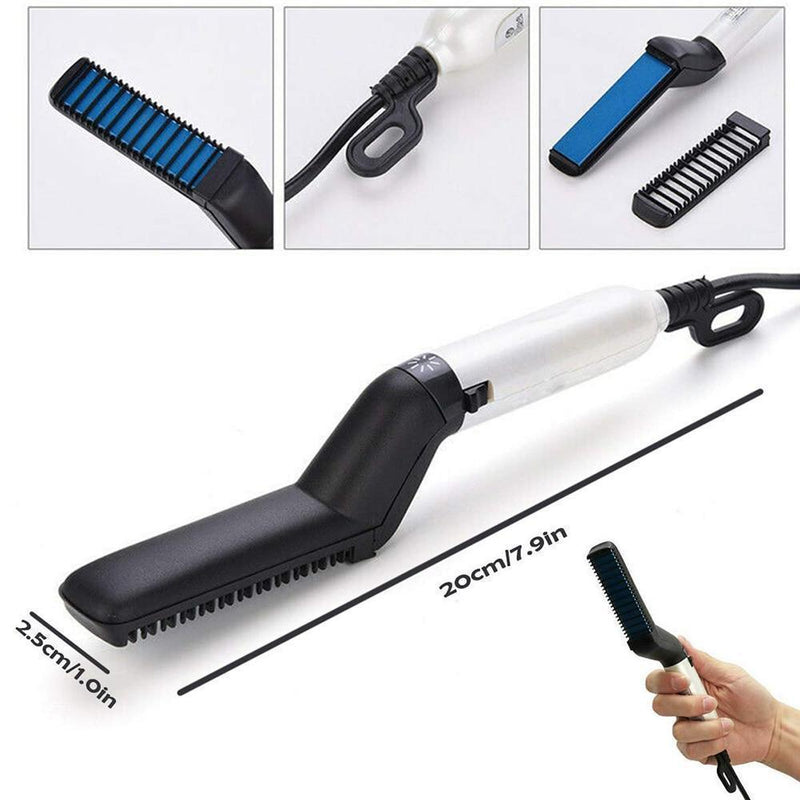Bestsellrz® Beard Straightener Comb Men Hair Straightening Electric Tool-Smoothix™ Styling Accessories Smoothix™