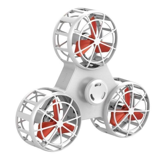 Bestsellrz® Best Flying Fidget Spinner for Anxiety and Stress Relief Cool Toys- Flyget™ Fidget Spinner Ivory White FlyGet™ Spinner