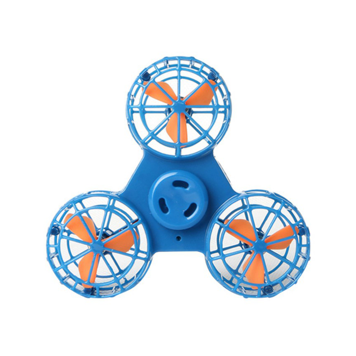 Bestsellrz® Best Flying Fidget Spinner for Anxiety and Stress Relief Cool Toys- Flyget™ Fidget Spinner Olympic Blue FlyGet™ Spinner