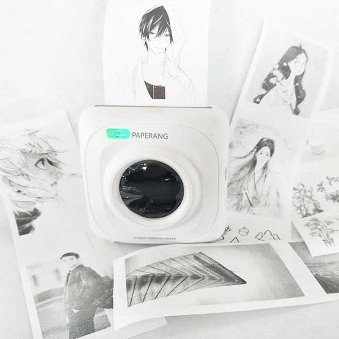 Bestsellrz® Bluetooth Portable Mini Photo Printer Mobile  Small Printer - Paperoid™ Printers Paperoid™