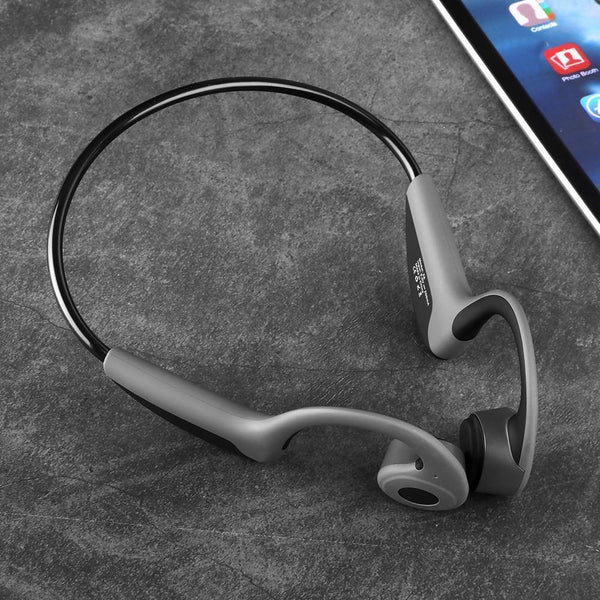 Bestsellrz® Bone Conduction Headphones Bluetooth Wireless Headset - Vibsonix™ Bone Conduction Headphones Black Vibsonix™ Headphones