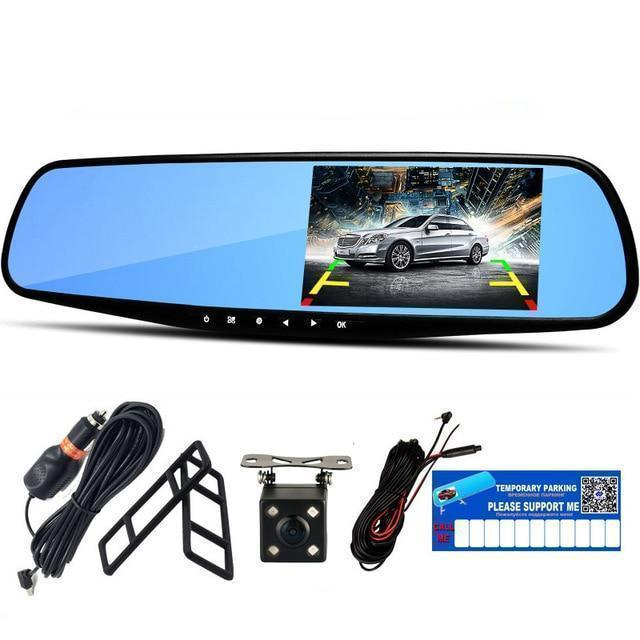 Bestsellrz® Car Dash Cam Motion Activated Backup Camera Front Rear View Mirror - Camreel™ DVR/Dash Camera Camreel™