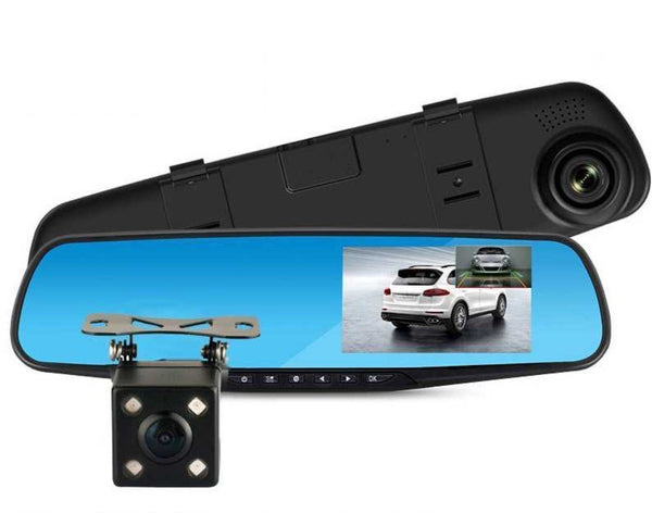 Bestsellrz® Car Dash Cam Motion Activated Backup Camera Front Rear View Mirror - Camreel™ DVR/Dash Camera With 16GB SD Card Camreel™