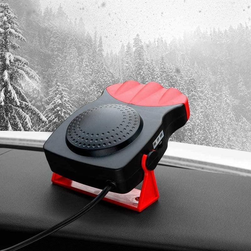 Bestsellrz® Car Defogger Heater In-Car Windshield  Defroster Portable Car Fan - Carzix™ Heating & Fans Carzix™