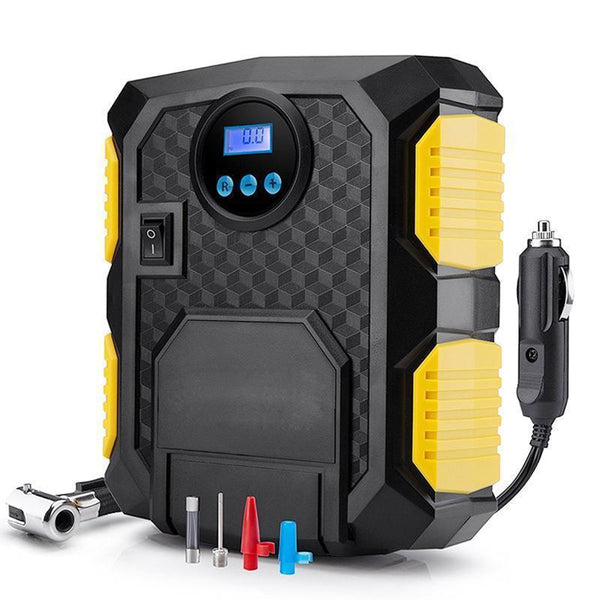 Bestsellrz® Car Mini Air Pump Tyres Inflator Smallest Air Compressor 12V Pump - MagicFlo™ Inflatable Pump MagicFlo™ - Air Pump