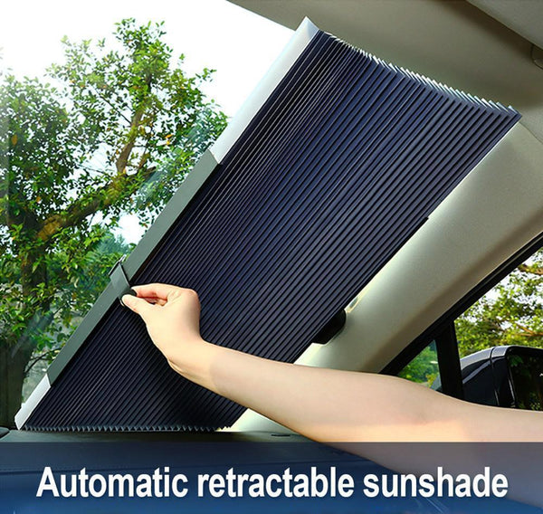 Bestsellrz® Car Sun Shade Windshield Cover Retractable Side Window Sun Blocker Windshield Sunshades 46cm Shieldzy™