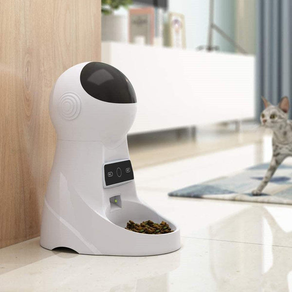 Bestsellrz® Cat Feeding & Watering Supplies Wi-Fi Pet Feeder