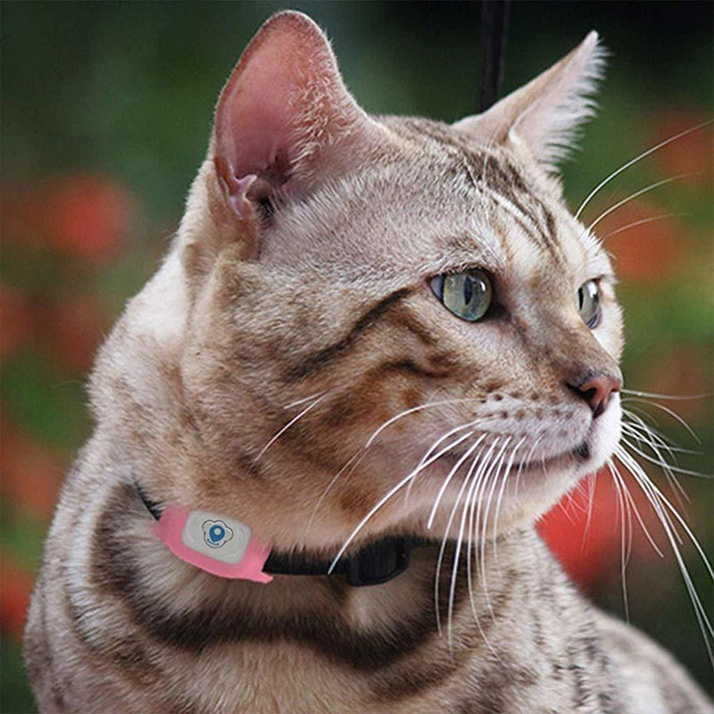 Bestsellrz® Cat GPS Tracker Collar Pet Location Tracking Device for Dogs -Trakpet™ Pet GPS Tracker Pink Trakpet™