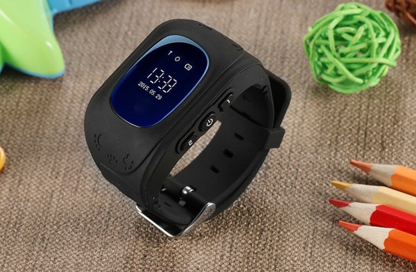 Bestsellrz® Children Locator Tracker GPS Watch that Allows Call Texting - Qinitor™ Kids GPS Watch Black Qinitor™