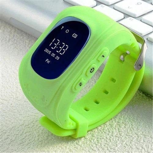 Bestsellrz® Children Locator Tracker GPS Watch that Allows Call Texting - Qinitor™ Kids GPS Watch Green Qinitor™