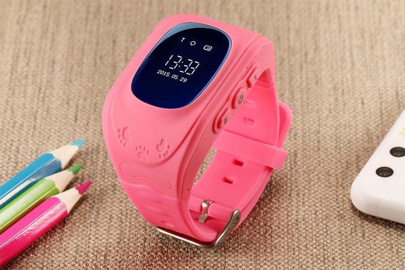 Bestsellrz® Children Locator Tracker GPS Watch that Allows Call Texting - Qinitor™ Kids GPS Watch Pink Qinitor™
