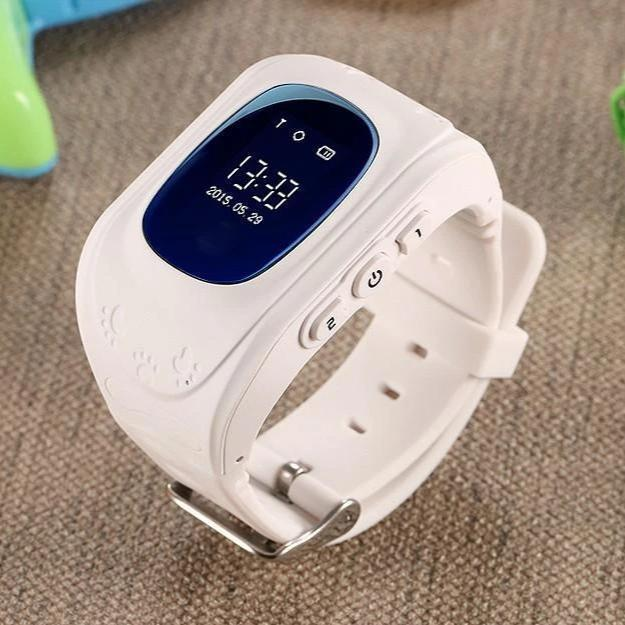 Bestsellrz® Children Locator Tracker GPS Watch that Allows Call Texting - Qinitor™ Kids GPS Watch White Qinitor™