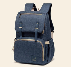 Bestsellrz® Diaper Bag Backpack Baby Waterproof Travel Bags For Mom - BratPack™ Diaper Bags Denim Blue BratPack™