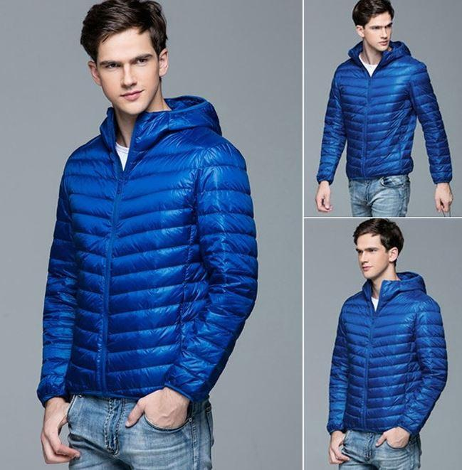 Bestsellrz® Down Puffer Bomber Winter Jacket Hoodie - Windyce™ Down Jackets Royal Blue / 3XS Windyce™