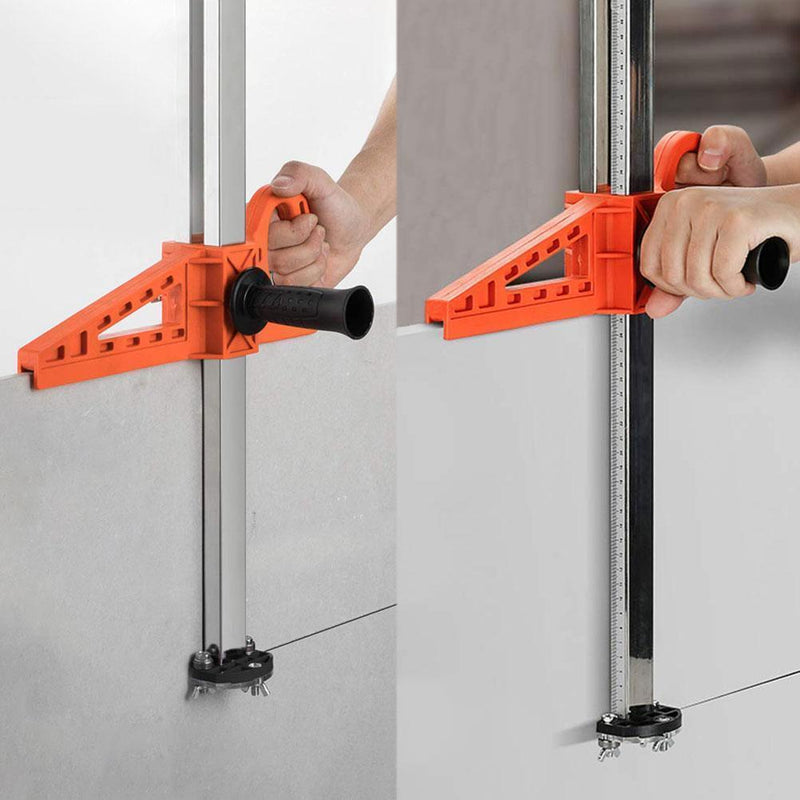 Bestsellrz® Drywall Cutting Tool Stainless Steel Plasterboard Cutter  - Acurave™ Drywall Cutter Orange Acurave™