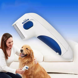 Bestsellrz® Electric Flea Comb For Dogs Electronic Tick Zapper - Exoflea™ Dog Combs Exoflea™