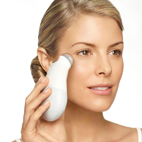 Bestsellrz® Electric Microcurrent Face Lift Massager Facial Toning Wrinkle Remover Device - Porexo™ Face Skin Care Tools White Porexo™