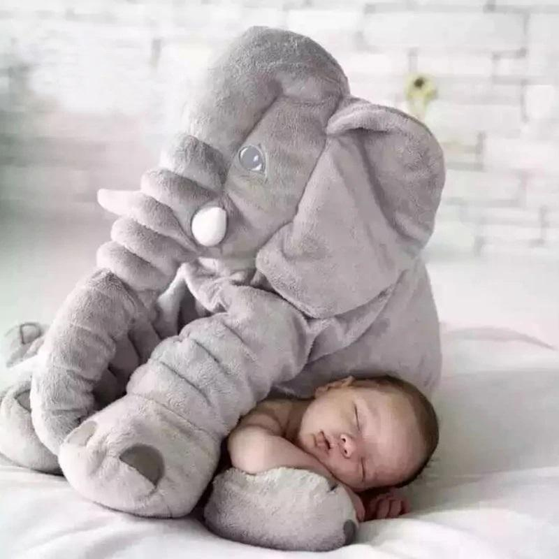 Bestsellrz® Elephant Plush Toy Pillow For Kids - Twippy™ Stuffed & Plush Animals 40cm / Gray Twippy™