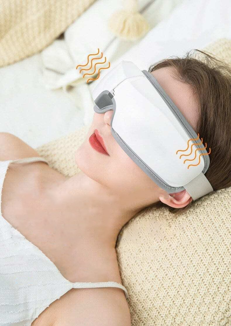 Bestsellrz® Eye Massager Eyelid Massage Machine For Dry Eyes - Oculio™ Eye Massage Device Oculio™