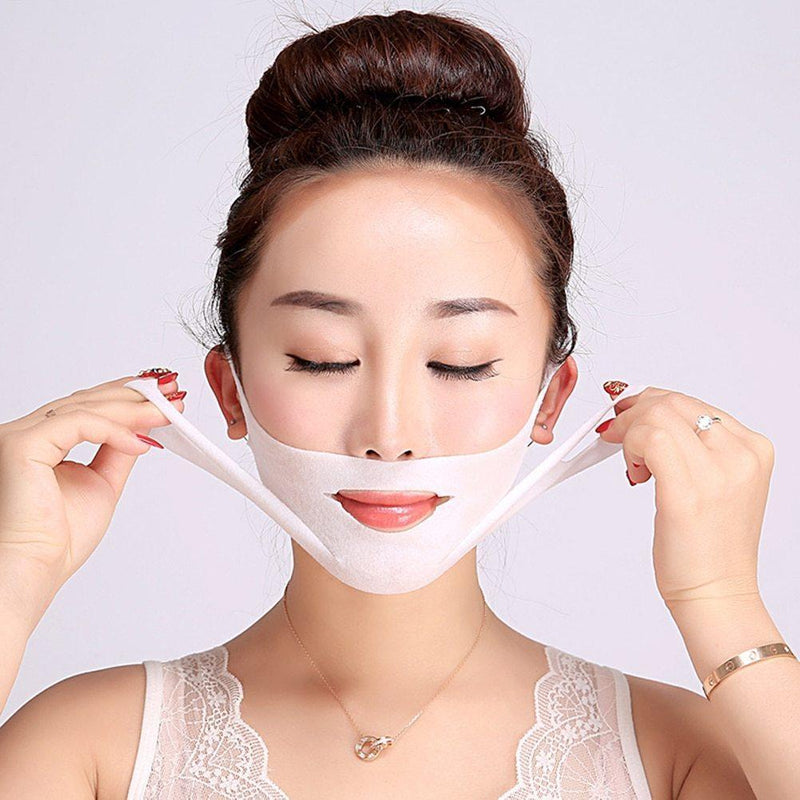Bestsellrz® Face Jawline Slimming Mask V Shape Chin Wrap Face Lift Strap Band- Weatox™ Face Mask of 10 Weatox™