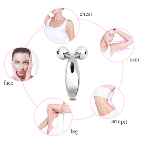 Bestsellrz® Face Roller Massager Facial Massage Machine Microcurrent Device Roller Face Skin Care Tools Vivifier™ - Face Massager