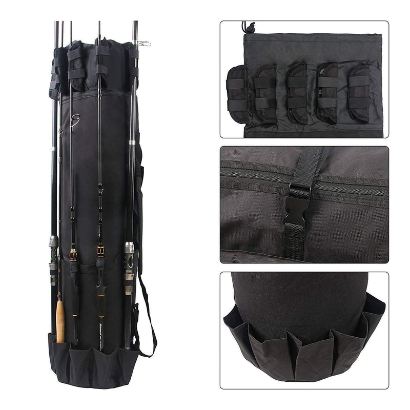 Bestsellrz® Fishing Rod Bag Case Tackle Backpack Waterproof - Fishing Rod Bag Fishing Bags Fishing Rod Bag