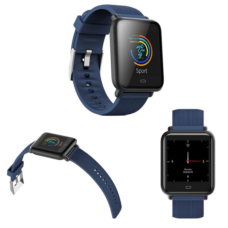 Bestsellrz® Fitness Activity Tracker Smartwatch Waterproof iOS Android -Fitsio™ Smart watches Navy Blue Fitsio™
