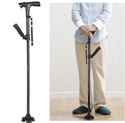 Bestsellrz® Folding Collapsible Canes Adjustable Walking Stick - Steadiq™ Walking Sticks Steadiq™