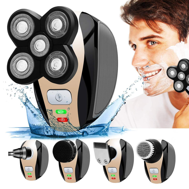 Bestsellrz® Head Hair Shaver Beard Nose Trimmer Electric Skull Clipper  - Shavix™ Electric Head Shavers Shavix™