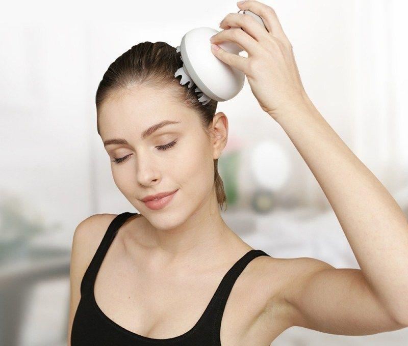 Bestsellrz® Head Scalp Massager For Hair Growth Electric Handheld Tool- Relaxonic™ Massage & Relaxation Relaxonic™