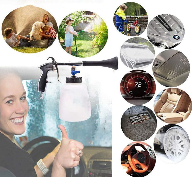 Bestsellrz® High Pressure Spray Foam Car Wash Nozzle Cleaner Gun - Foamzie™ Water Gun & Snow Foam Lance Foamzie™