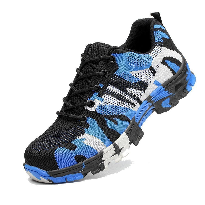 Bestsellrz® Indestructible Puncture Resistant Steel Toe Safety Shoes - Neotough™ Shoes Work & Safety Boots Camouflage Blue / 6 Neotough™ Shoes