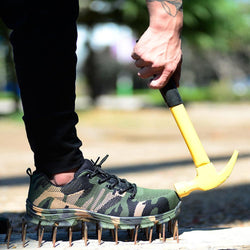 Bestsellrz® Indestructible Puncture Resistant Steel Toe Safety Shoes - Neotough™ Shoes Work & Safety Boots Camouflage Green / 10 Neotough™ Shoes
