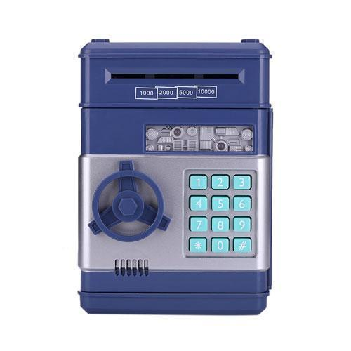 Bestsellrz® Kids Electronic Automatic ATM Piggy Bank - Investiggy™ Piggy Banks DARK BLUE Investiggy™