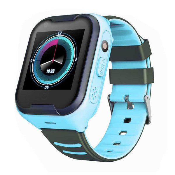 Bestsellrz® Kids Smart Watch with GPS Tracker Bluetooth and Calling - Qinitor™ Pro Smart Watches Blue Qinitor™ Pro
