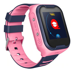 Bestsellrz® Kids Smart Watch with GPS Tracker Bluetooth and Calling - Qinitor™ Pro Smart Watches Pink Qinitor™ Pro
