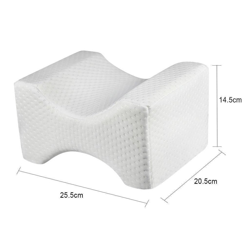 Bestsellrz® Knee Pillow Leg Under Contour Side Sleepers Orthopedic Back Pain Hip Body Pillows Duveno™