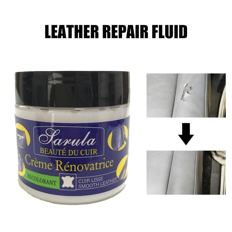 Bestsellrz® Leather Restoration Repair Cream and Recoloring Balm Kit for Car Sofa Leather Restoration Cream Leather Restoration Kit