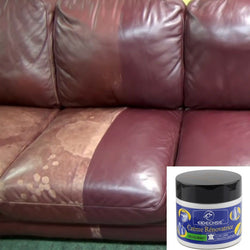 Bestsellrz® Leather Restoration Repair Cream and Recoloring Balm Kit for Car Sofa Leather Restoration Cream Restoration Cream Leather Restoration Kit