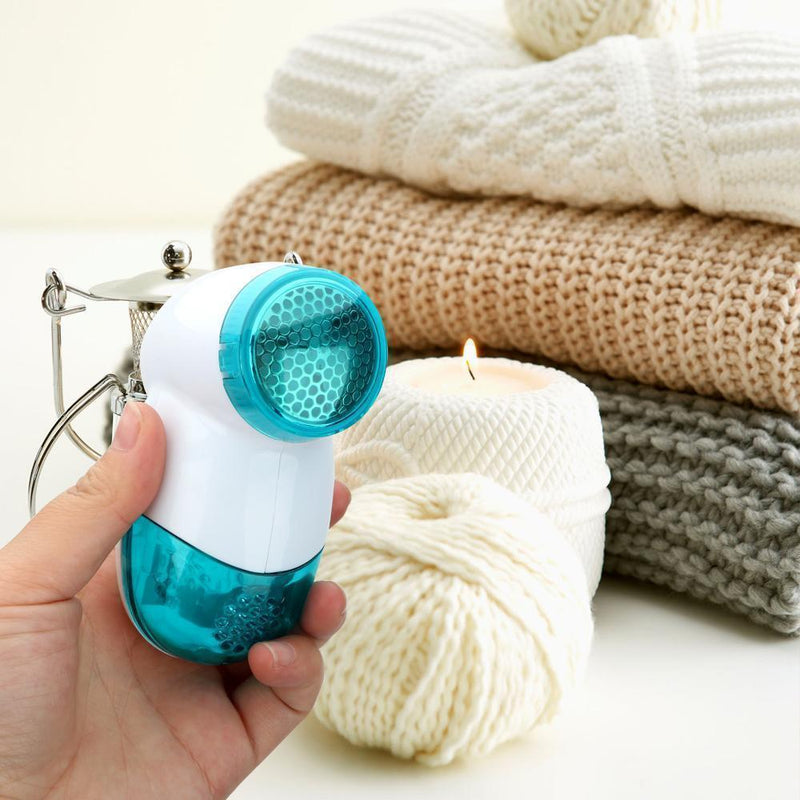 Bestsellrz® Lint Remover Fabric Shaver Electric Sweater Defuzzer - Expelint™ Lint Remover Machine Blue Expelint™