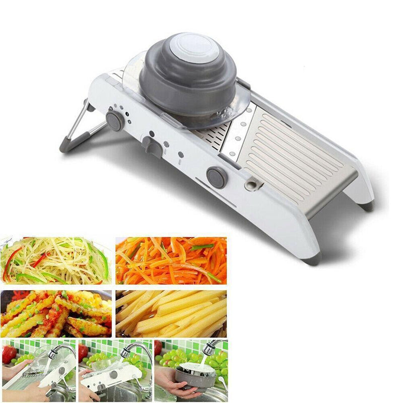 Bestsellrz® Mandoline Slicer Salad Chopper Onion Dicer Vegetable Cutter Slicerie™ Shredders & Slicers Slicerie™